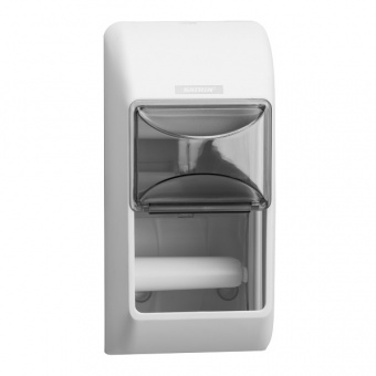 Диспенсер Katrin Toilet 2-Roll Dispenser - White 92384 фото